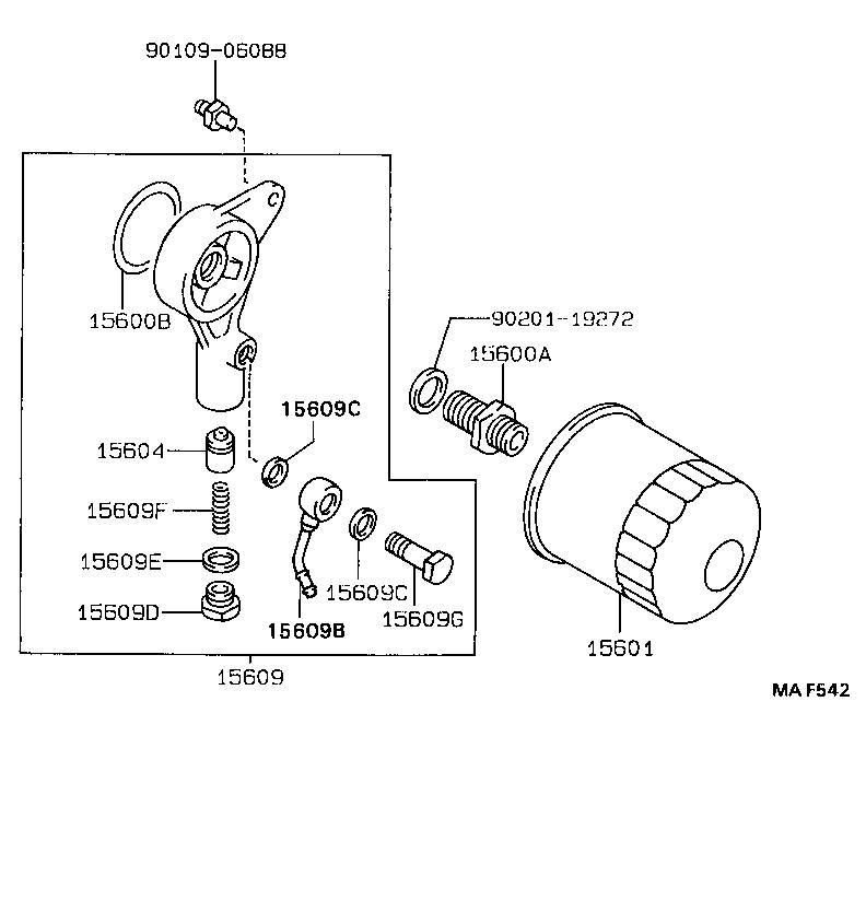 1985 toyota supra fuel filter