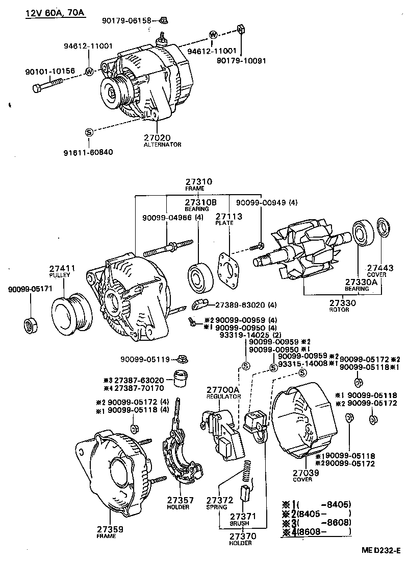 Schaltplan Toyota Yaris