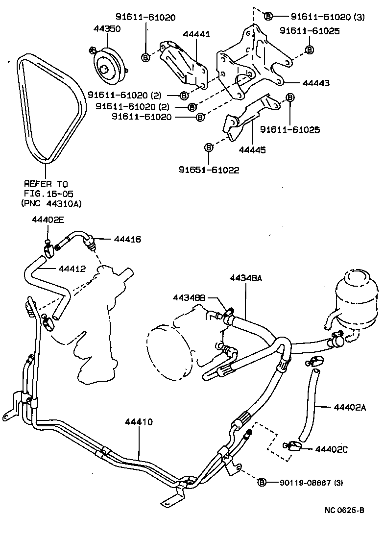 4 cyl engine diagram for a 1990 ford ranger