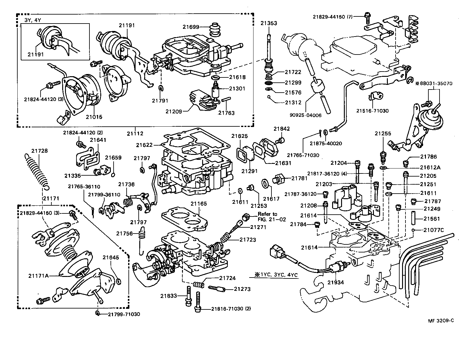 1989 toyota 22r engine diagram