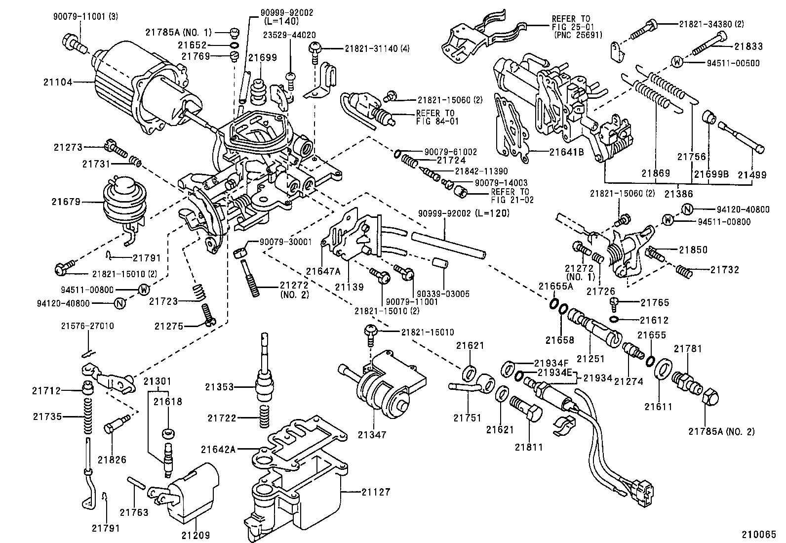toyota corolla 1988 engine diagram