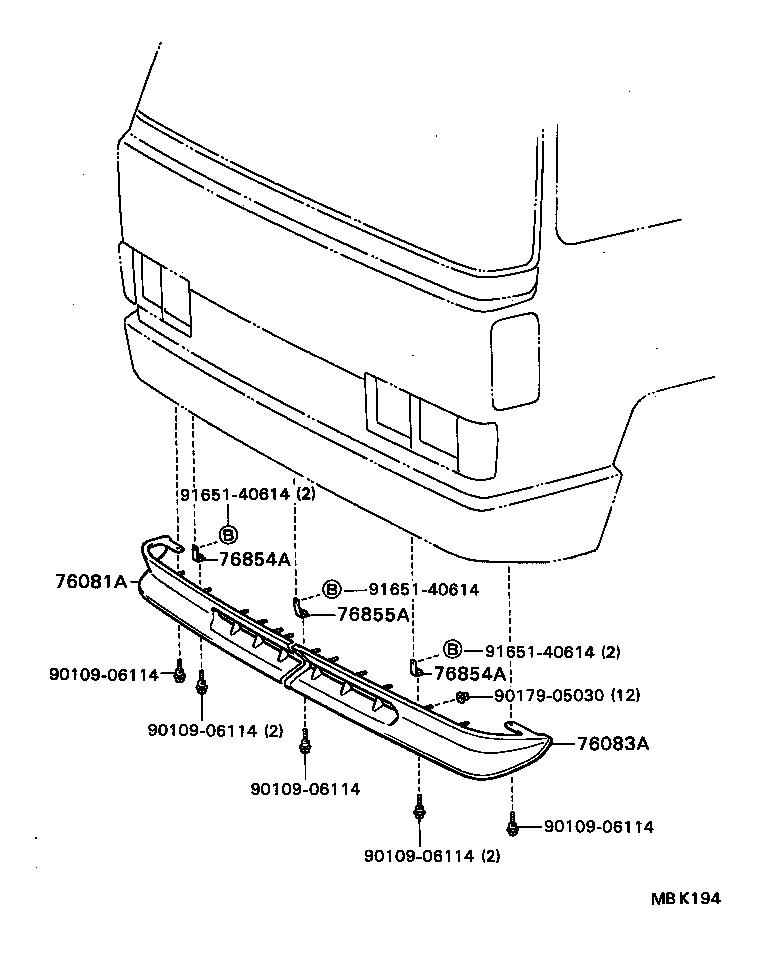 1985 toyota pickup 22re fuse box diagram