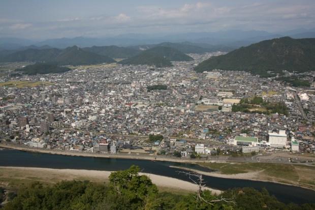 岐阜城 天守からの眺め