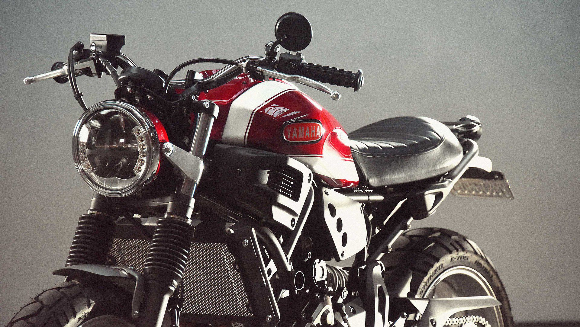 Garage Yamaha Faster Son Yamaha Xsr700 By Greg Hageman Adds To Yard Built