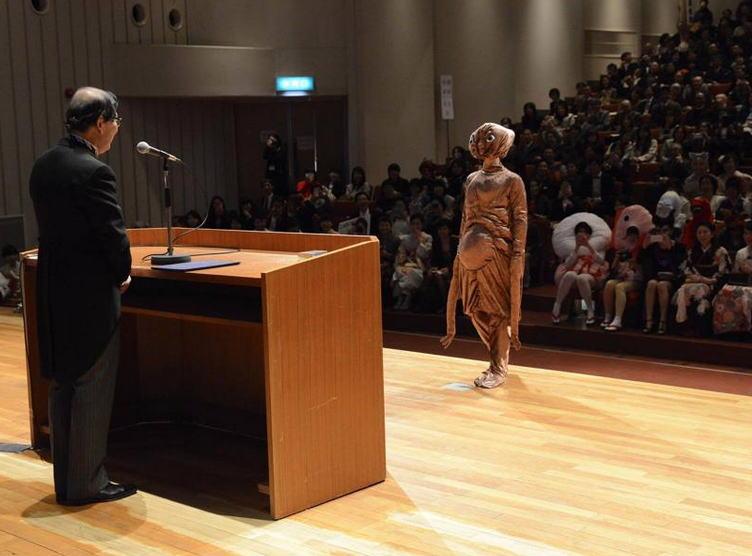 Graduation at Kyoto City University of Art