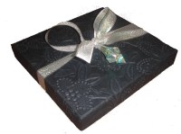 Deeply Embossing Logo Printing Gift Box Packaging With ...