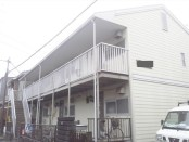 大和市アパートサイディング (1)