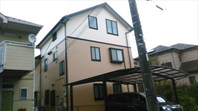 大和市サイディング外壁塗装 (1)