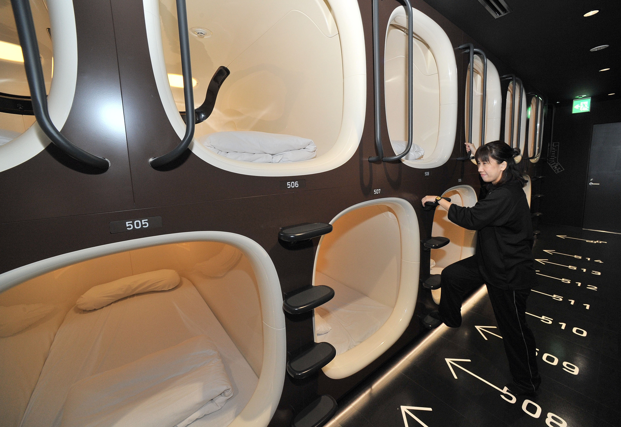 Kapselhotel Tokyo New Women Only Capsule Hotel To Open In Central Tokyo As