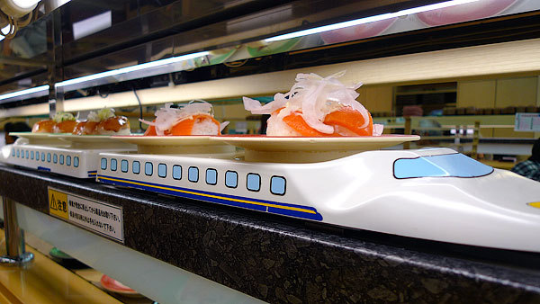 Sushi Train Restaurants in Japan