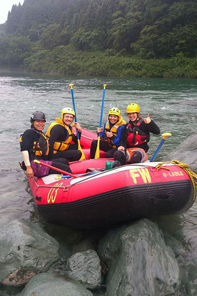 White Water Rafting in Tokushima