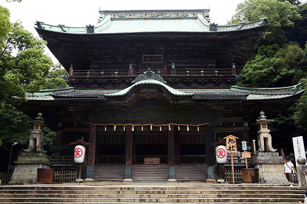Another temple at Konpira-san
