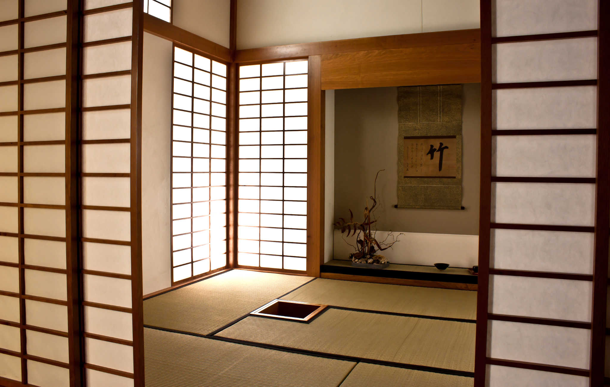 Decoration Interieur Japonais Interieur Japonais Decoration Separation Piece Claustra