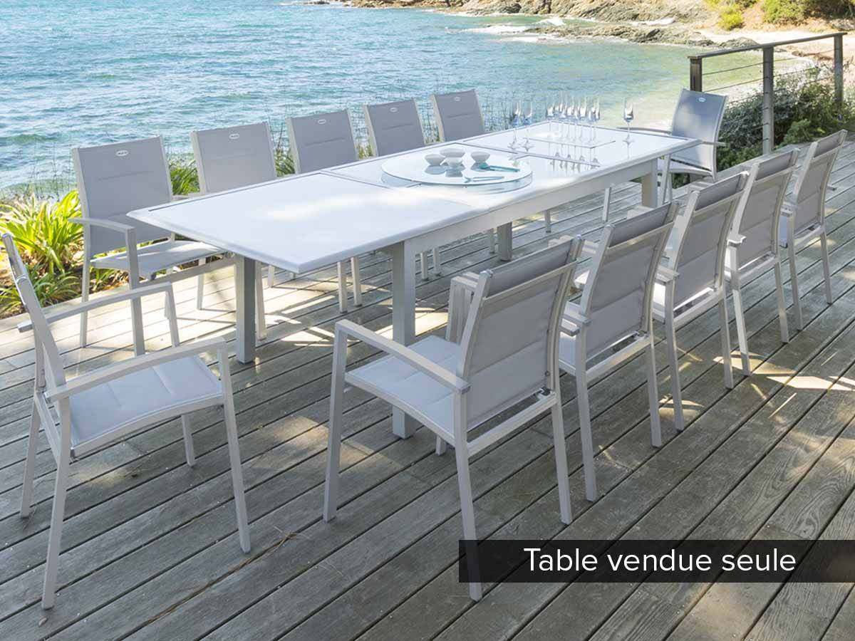 Table Jardin 12 Places Table De Jardin Hespéride Extensible Azua 8/12 Places