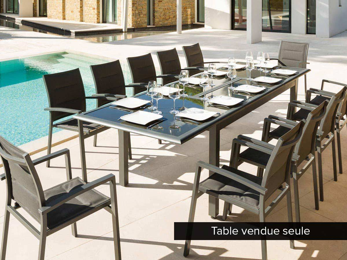 Table De Jardin Extensible 12 Places | Table De Jardin Extensible 12 ...