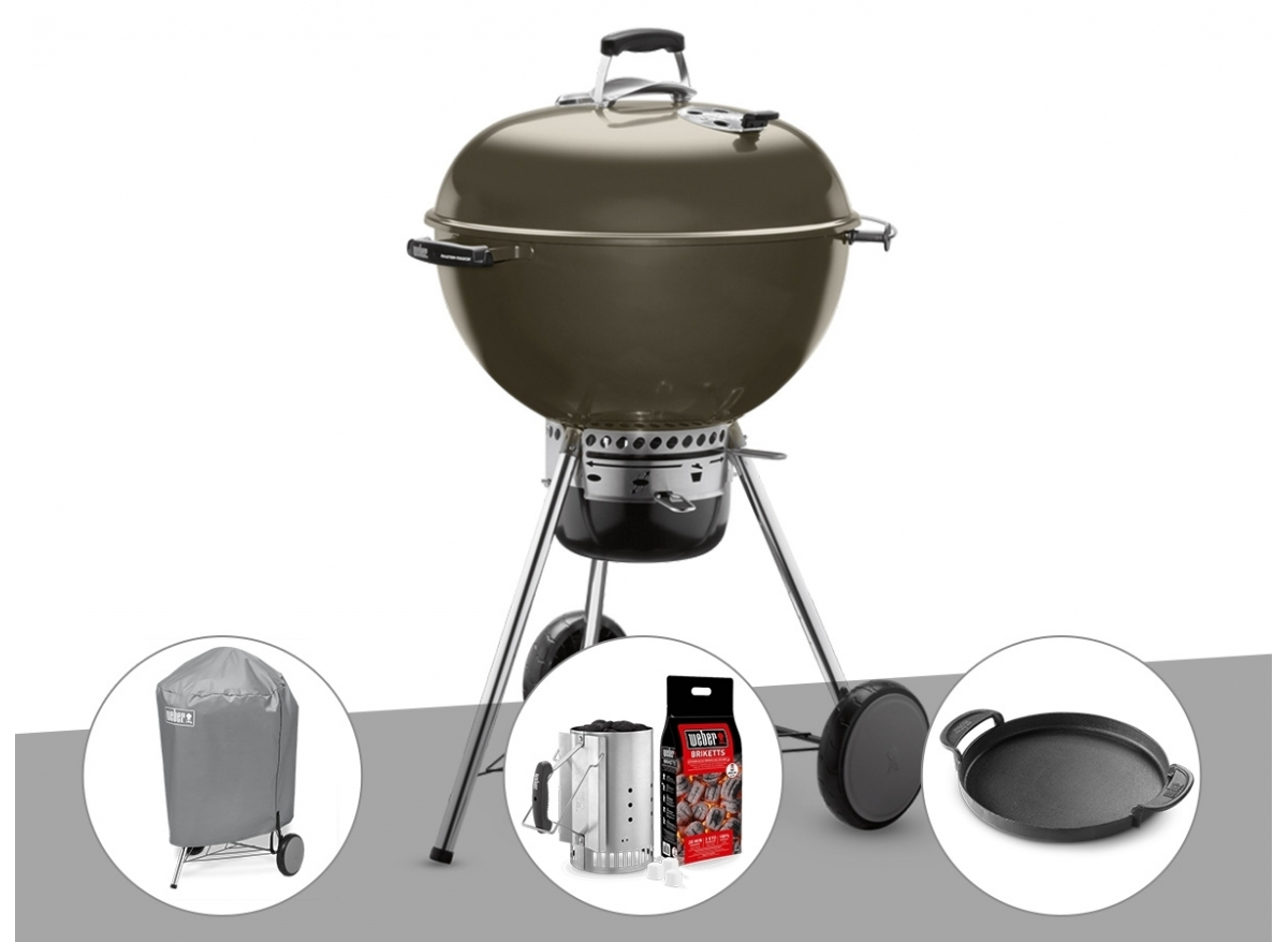 Barbecue Weber Cheminee Barbecue Weber Master Touch Gbs 57 Cm Gris