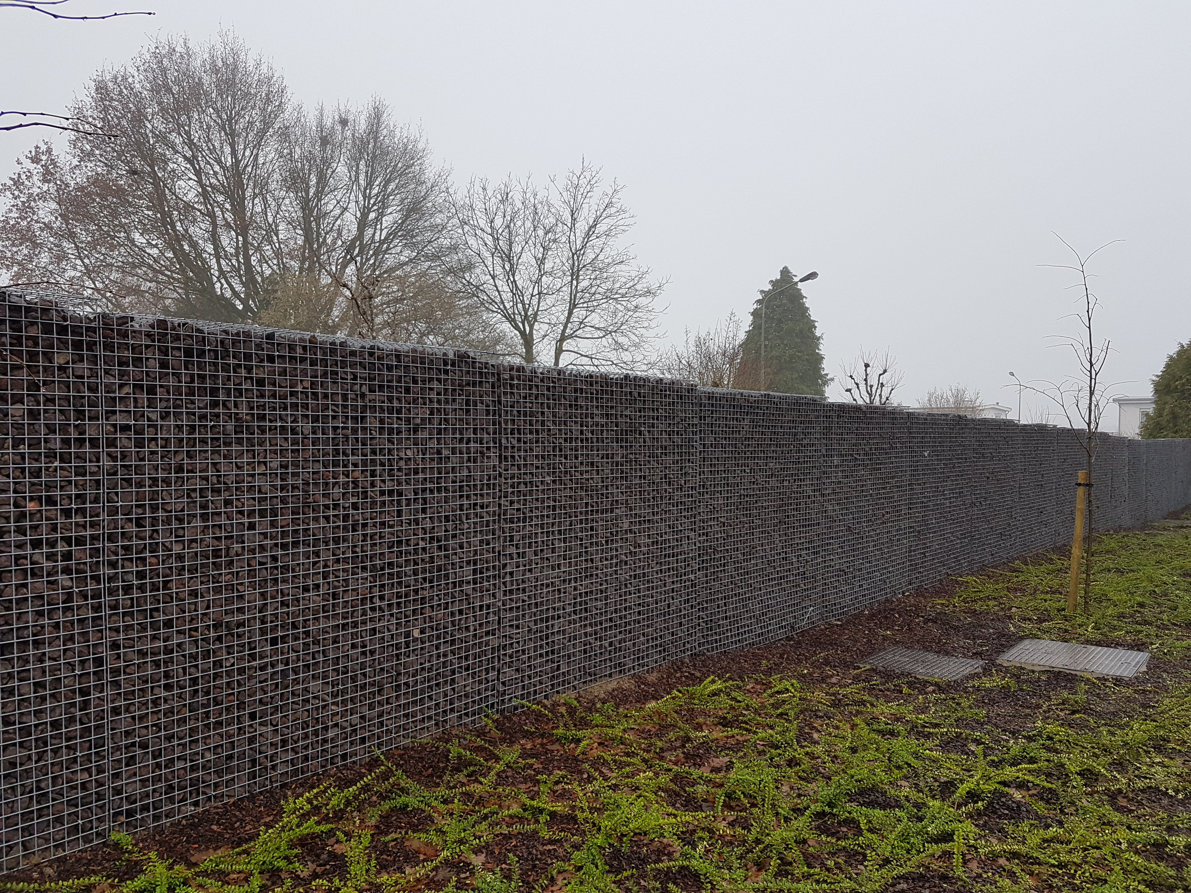 Amenagement Terrasse Gabion Gabion Stonewall De Betafence Jardin Et Decoration Amenagement