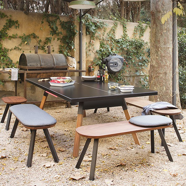 Housse Pour Table De Ping Pong Exterieur Table De Ping-pong You And Me - Jardinchic