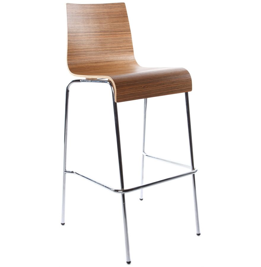 Tabourets Bar Empilables Tabouret De Bar Empilable Cobe Zebrano