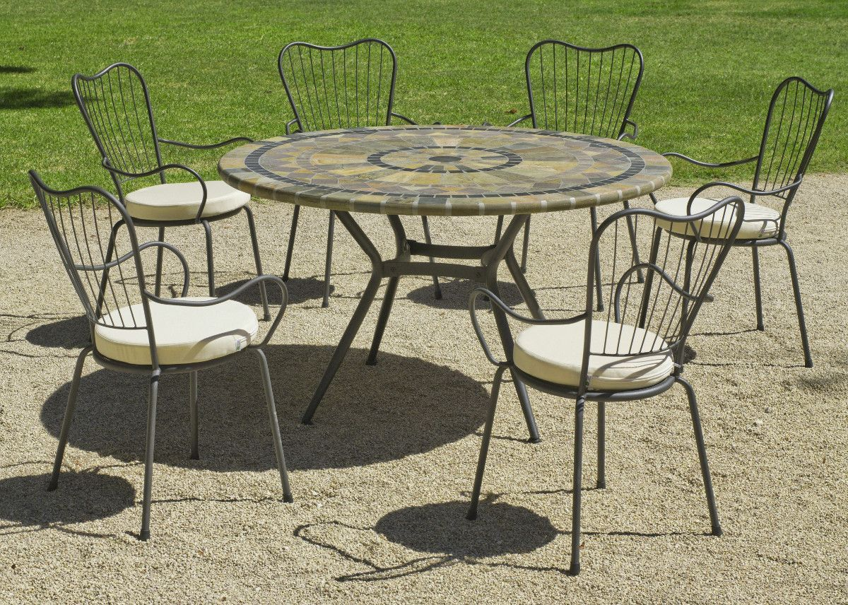 Table Jardin Ronde Table Jardin Ronde