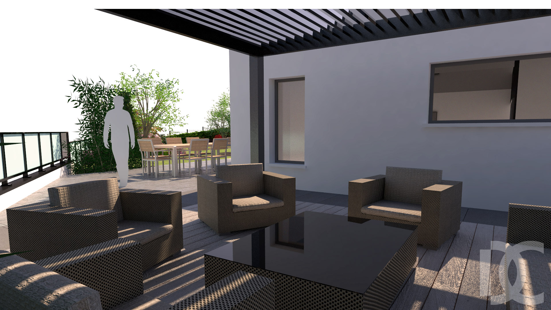Terrasse Jardin Design | Terrasses Bois Jardin Design