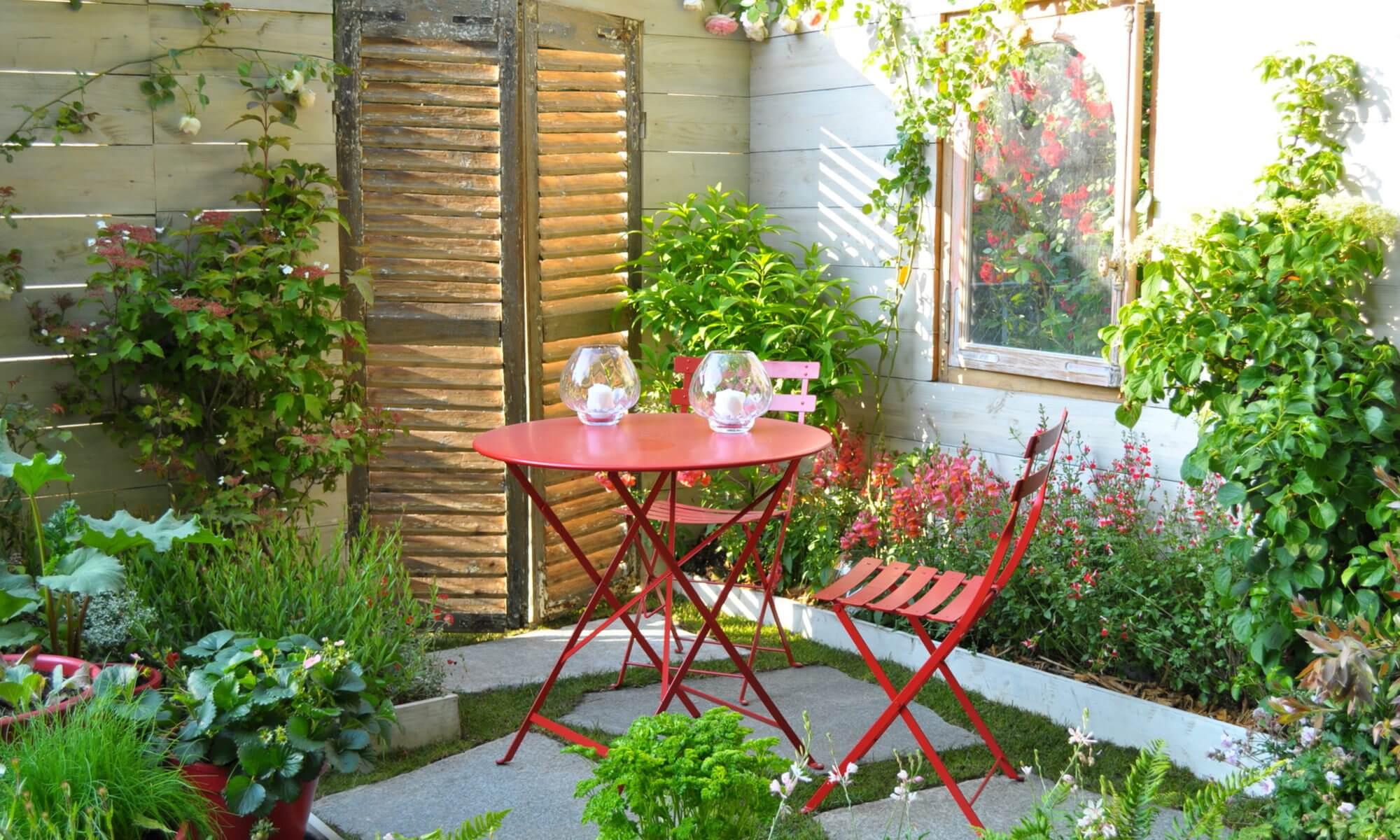 Photo De Petit Jardin | Cr Ation Jardin Sur Mesure Grenoble Avec ...
