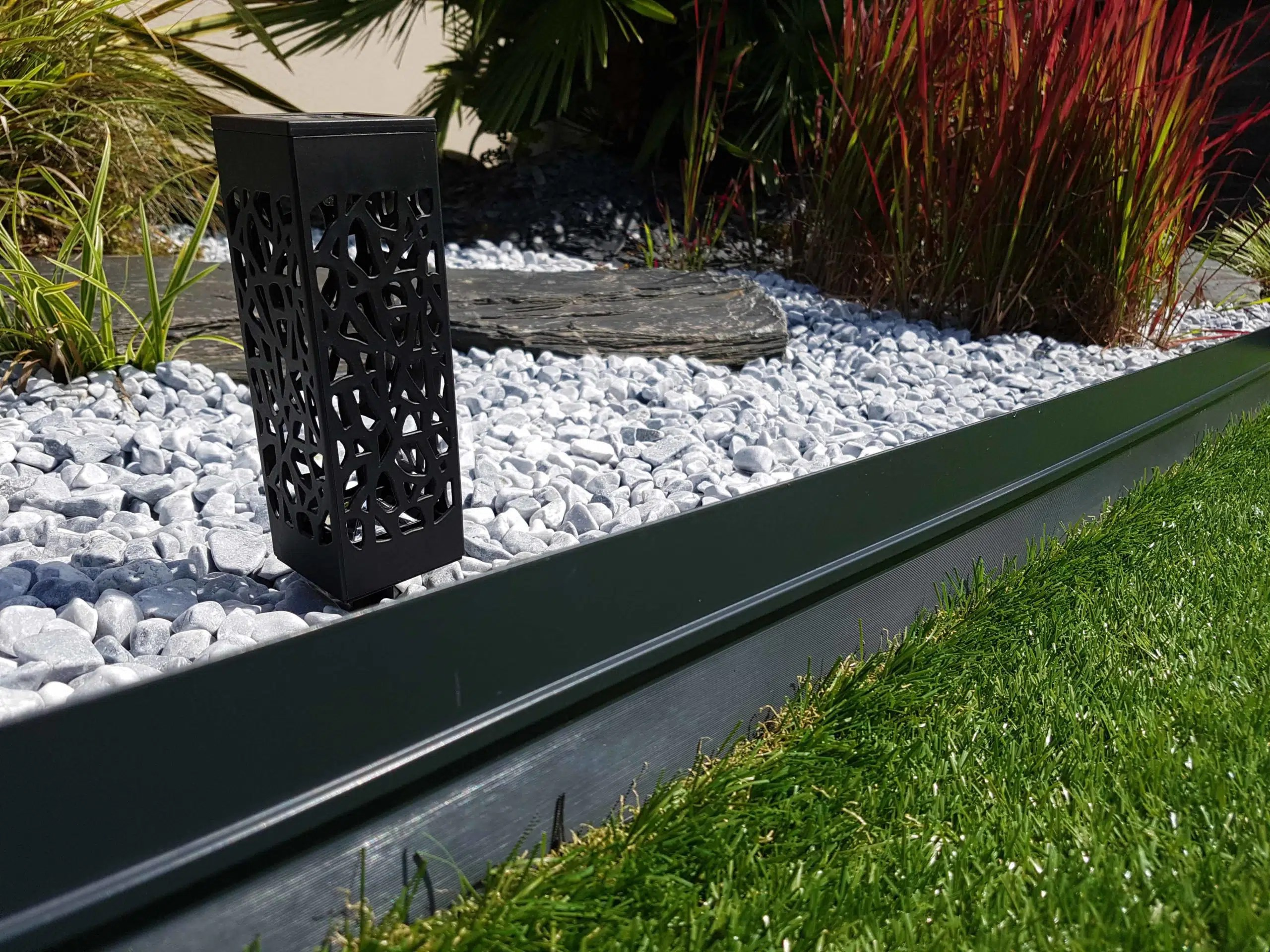 Decoration Bordure Jardin Bordure Bordalu Gris Anthracite Jardivrac Décoration