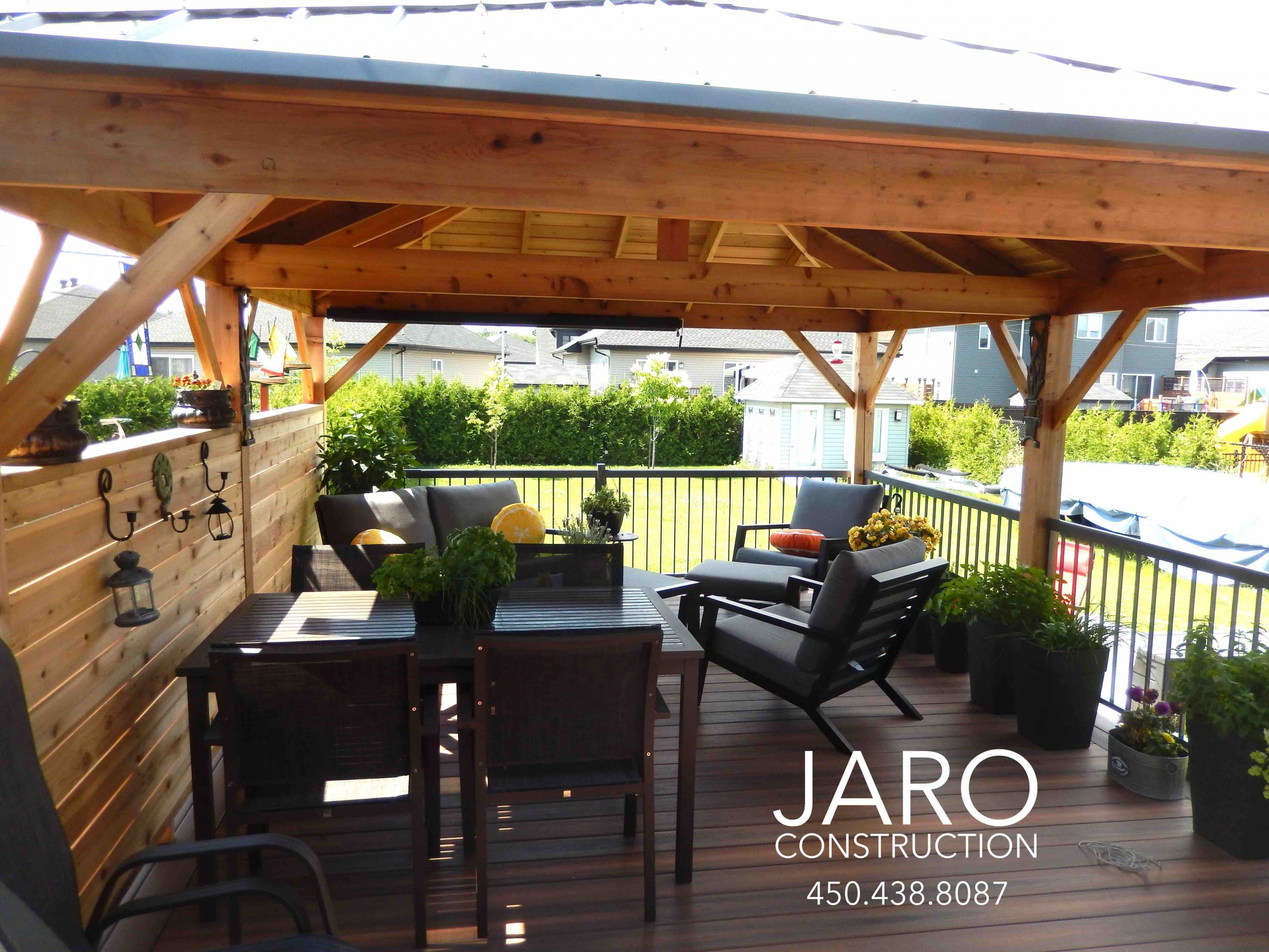 Patios Et Terrasses Jaro Construction