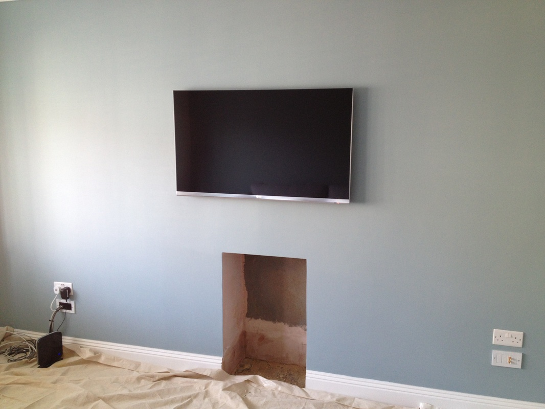 How To Put A Tv On A Wall Tv Wall Mounting Page 1 Aerial Satellite And Audio Visual