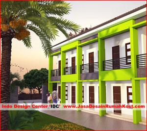 Desain Rumah Kost Di Grogol Cover