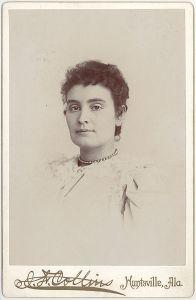 Retrato de Anne Sullivan, circa 1887