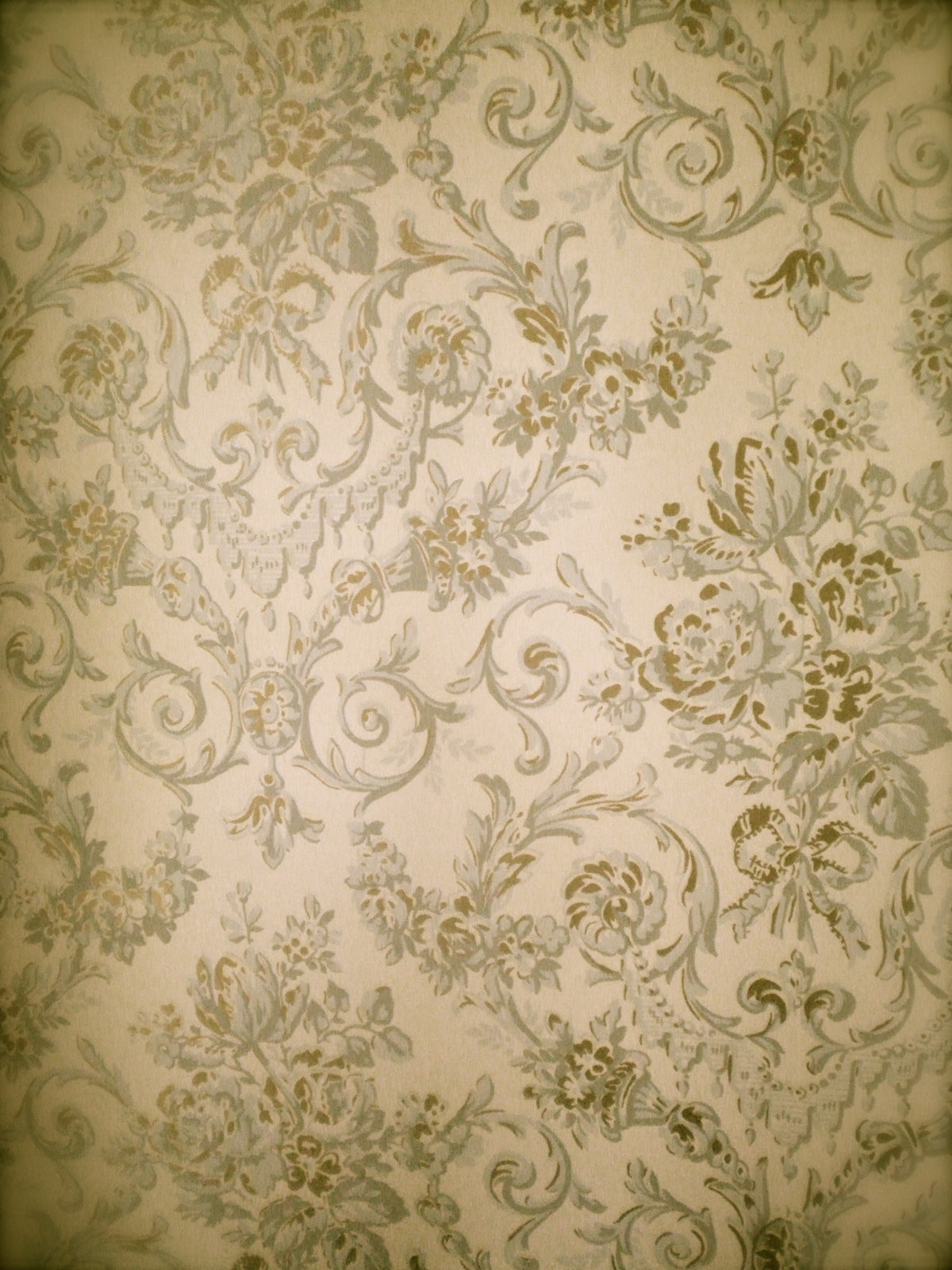 Purple And Black Damask Wallpaper J Jasmine Partida Always Hand Painted Always With Heart