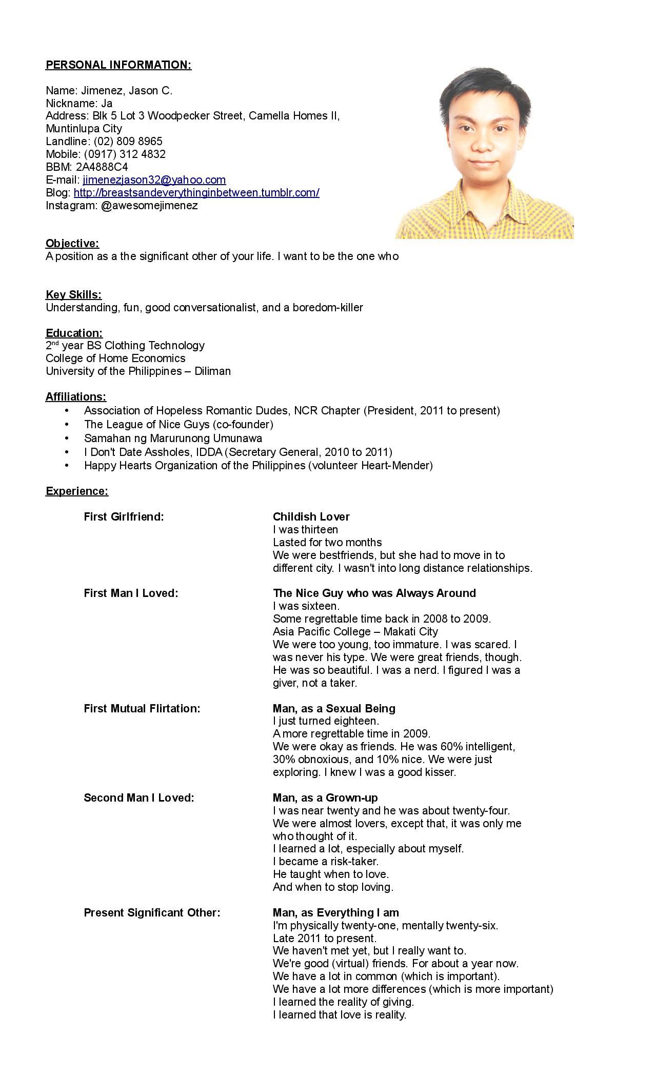 resume pan application