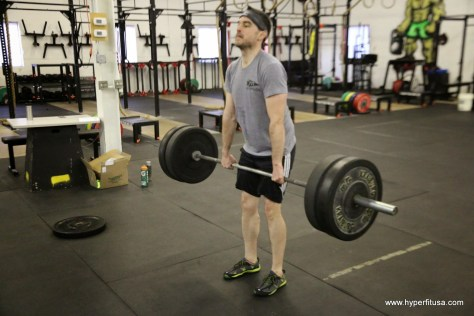 Dead Lift at CrossFit Ann Arbor