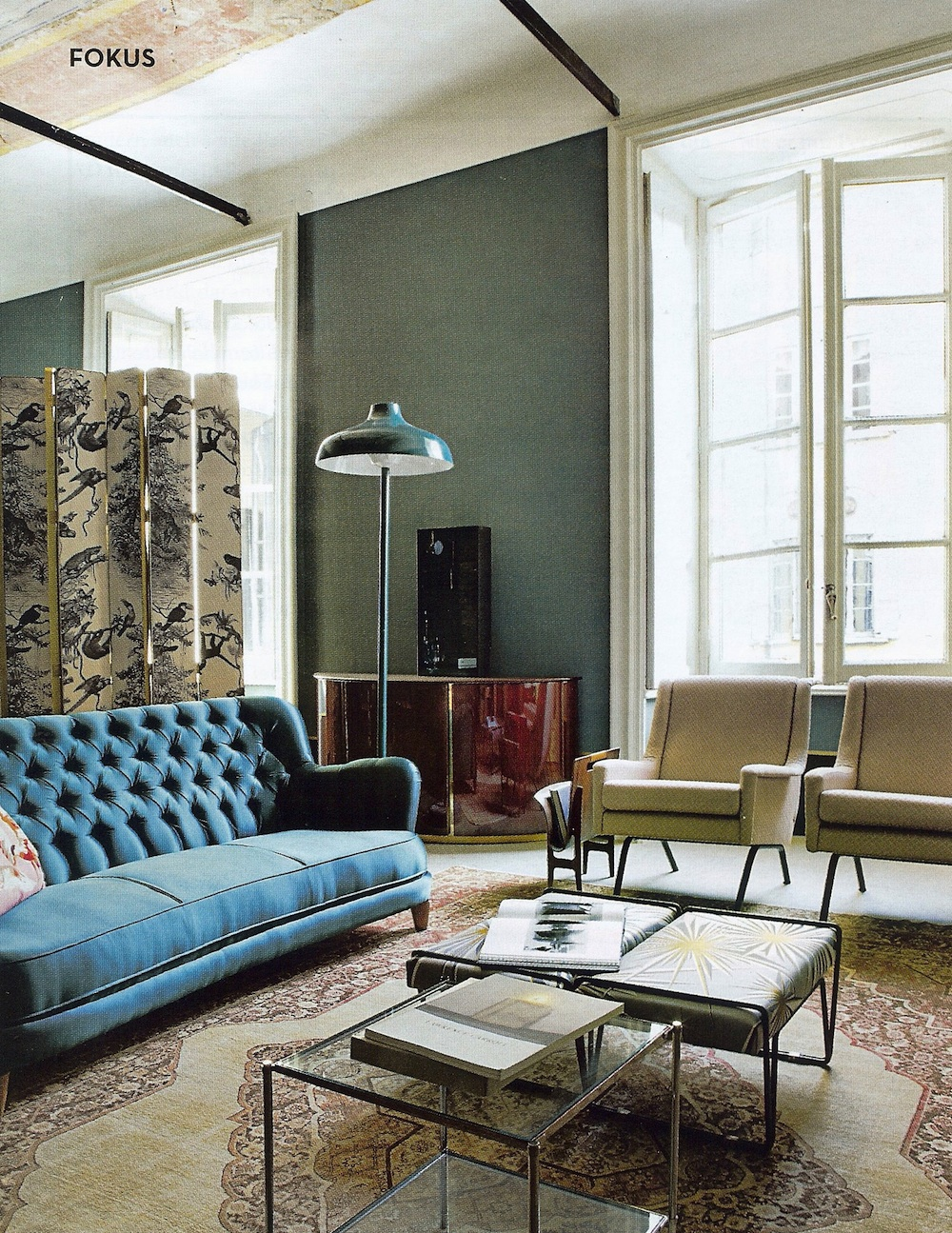 Modern Sofa Inspirational Interiors: Dimore Studio, Milan And Paris