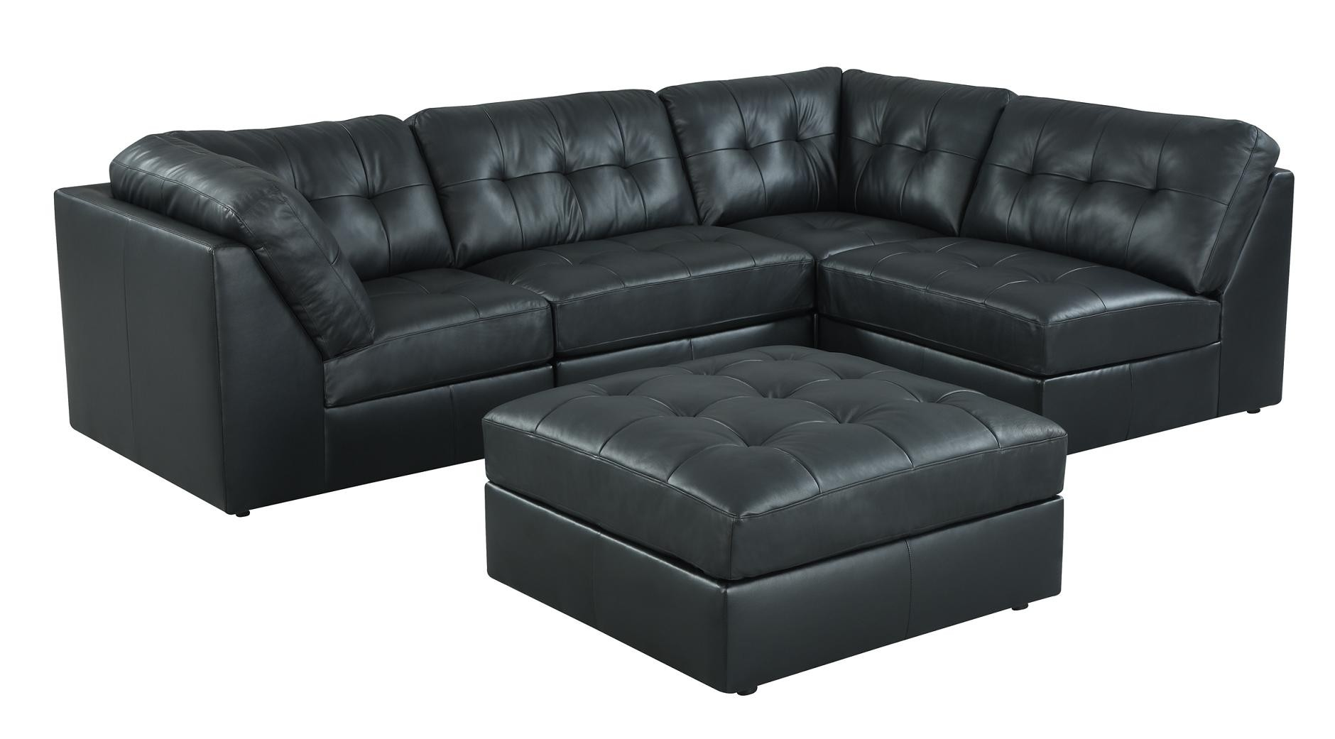 Sleek Leather Couch Sleek Sectional Jasons Furniture Outlet