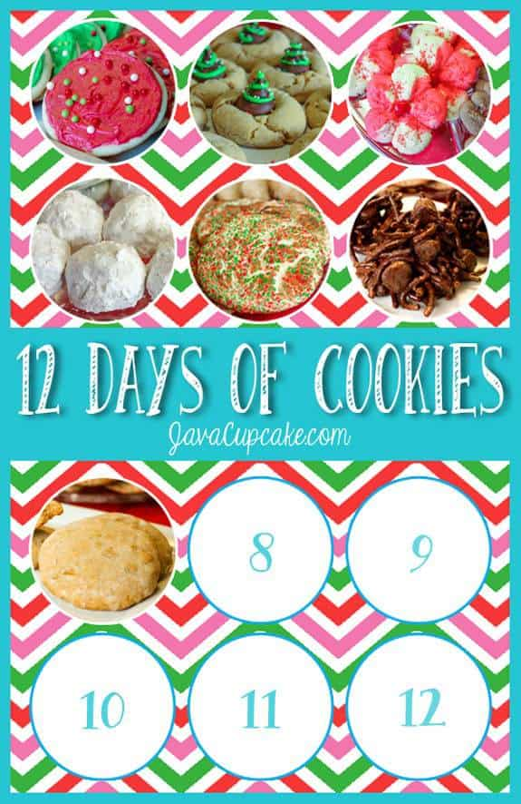 Day 7 - 12 Days of Cookies | JavaCupcake.com