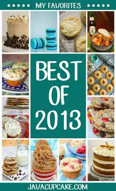 Best of 2013: My Favorites | JavaCupcake.com