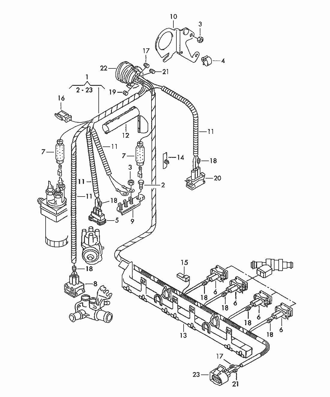 mk3 vr6 engine harness diagram