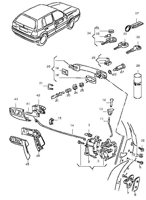 vw golf 4 wiring diagram