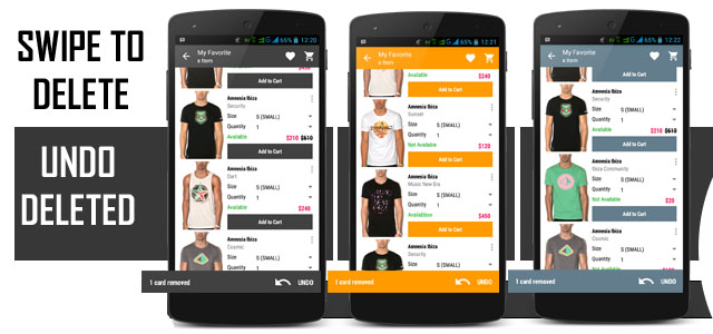 Android Fashion Shopping Template by launk CodeCanyon