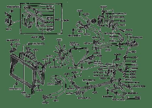 1998 saturn sl Diagrama del motor