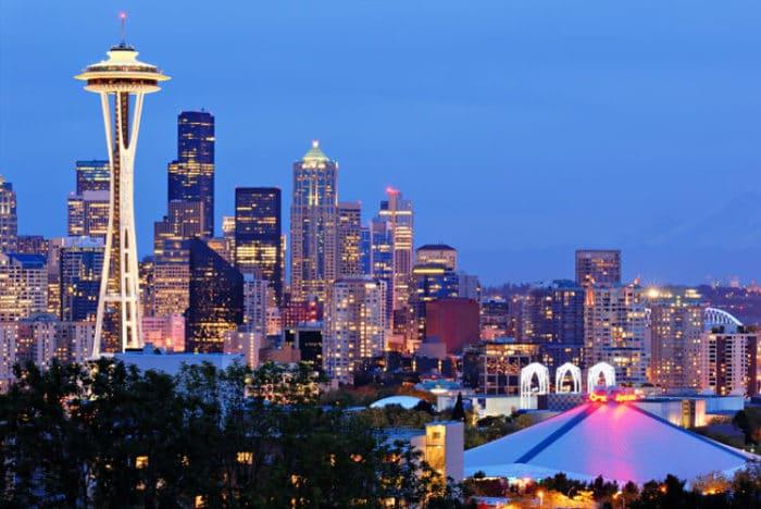 Seattle Washington In Fall City Night Wallpaper 21 Ciudades De Estados Unidos 161 Fascinantes Turismo Y Viajes