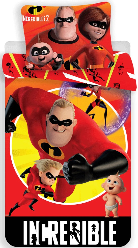 Fcb Bettwäsche The Incredibles Kind Bettwäsche 140×200 Cm, 70×90 Cm - Javol