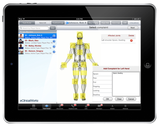 eClinicalWorks EMR Skeleton