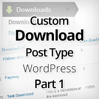 Download Custom Post Type in WordPress