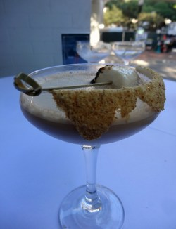 This Bourbon S'mores craft cocktail ($12) will give most reasonable sweet tooths satisfaction.