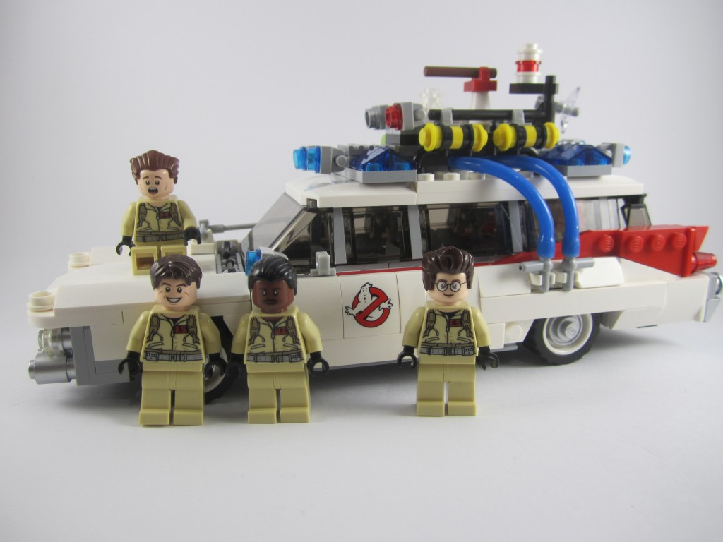 Store Banne Manuel Orange Review Lego 21108 Ghostbusters Ecto 1