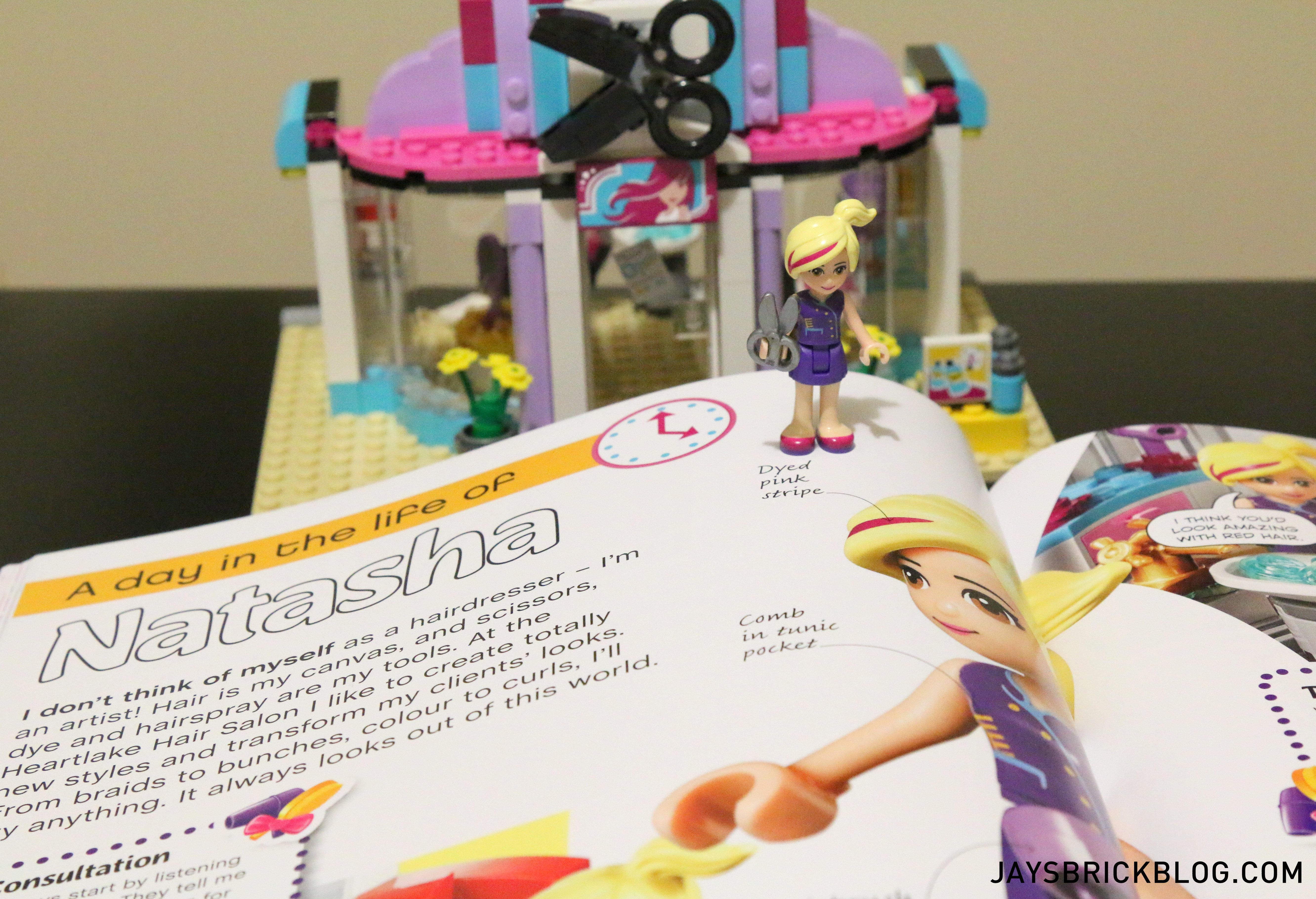 Salon Lego Review Lego Friends The Adventure Guide Book
