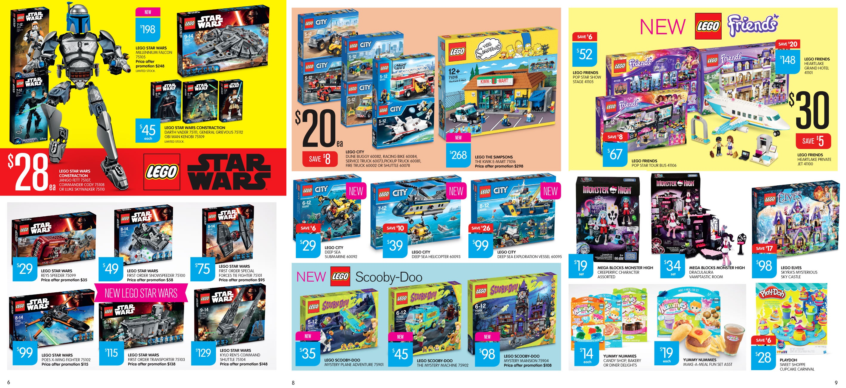Big W Toys Catalogue Australian Lego Sales September 2015